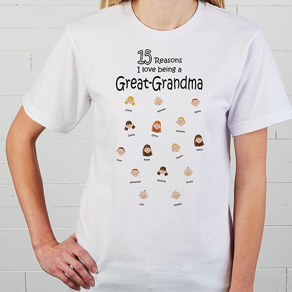 81 best Personalized Grandma T Shirts images on Pinterest | 60th ...