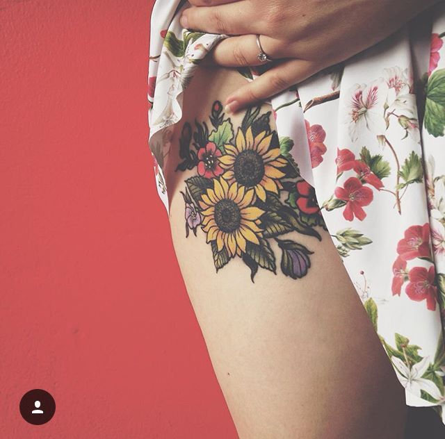 #tattoo #flowers #spring                                                                                                                                                                                 More