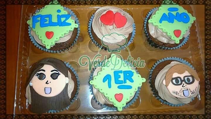 Cupcakes personalizados: sabor chocolate y nutella