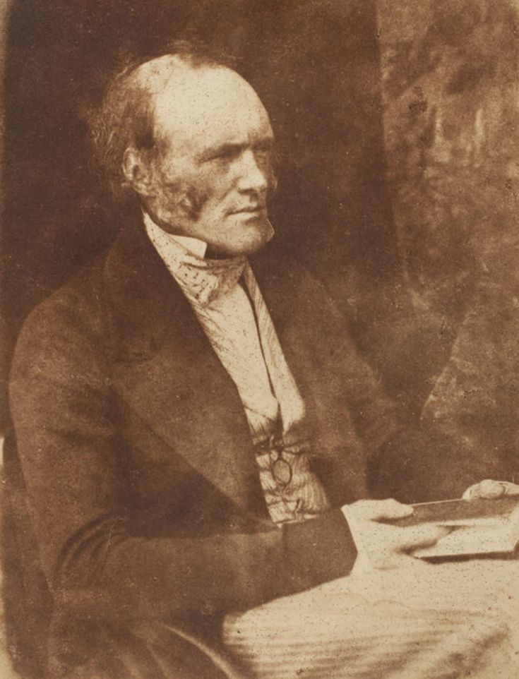 Charles Lyell (1797-1875), British lawyer and author of the very influential Principles of Geology (3 vols., 1830-1833).