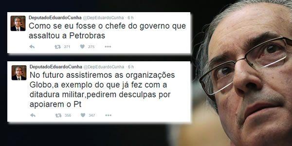 Eduardo Cunha ficou revoltado com a informação divulgada ontem (26)pelo colunista do GloboLauro Jardim, de que ele teria viajado para Cuba com sua família. Cunha usou o seu Twitterpara acusar as…