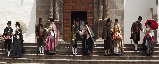 Escuela municipal de Folclore de Santa Cruz de La Palma  - Fue creada el 1 de septiembre de 1997 en el municipio de Santa Cruz de La Palma.