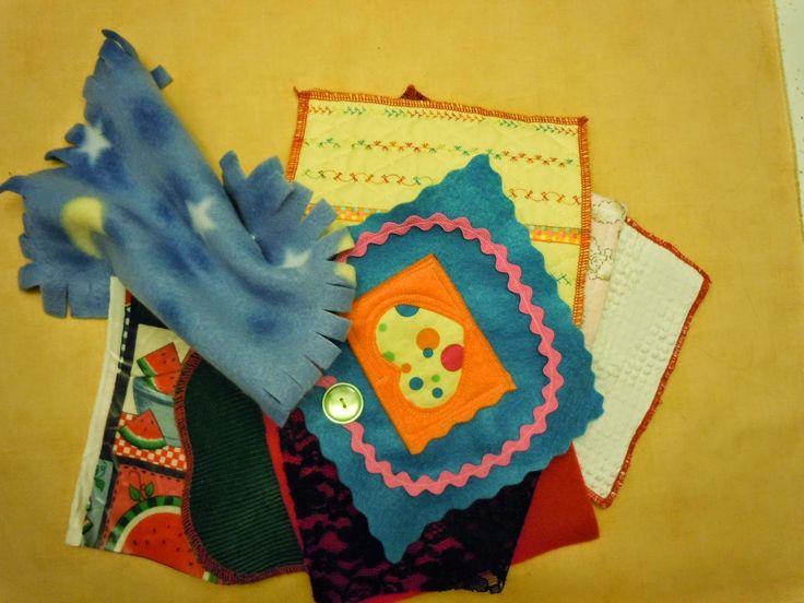 Alzheimer's Activity Aids: Making Texture Books