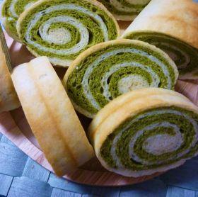 「ぐるぐるほうれん草パン」katumi | お菓子・パンのレシピや作り方【corecle*コレクル】