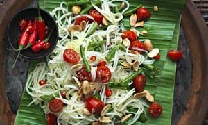 David Thompson's green papaya salad