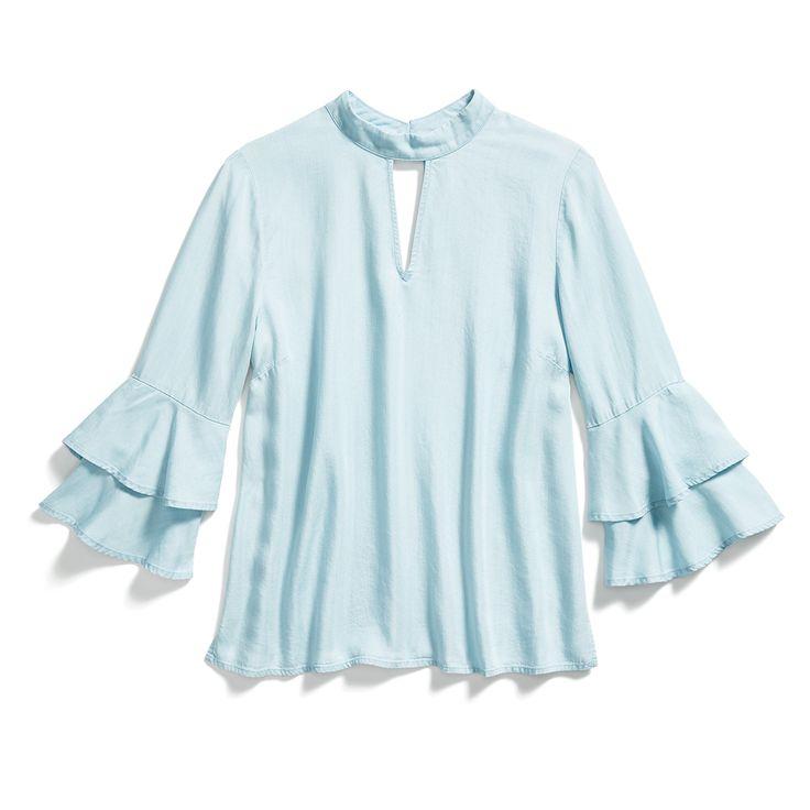 Stitch Fix Fall Stylist Picks: Ruffle Sleeve Blouse