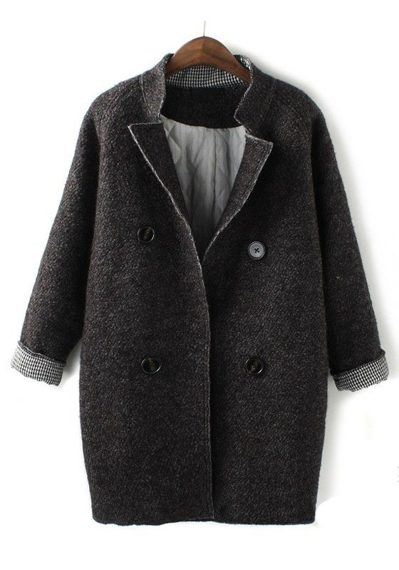grey collar coat