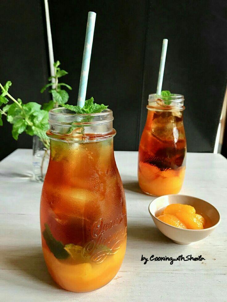 Iced Orange Tea