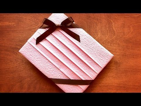 Simple & Beautiful Gift Wrapping for T-Shirt and More! - YouTube