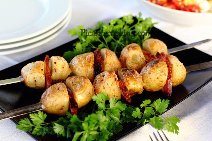 Картофель с мясом сыр