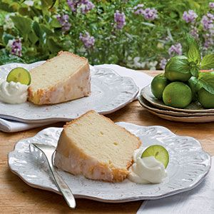 Key Lime Pound Cake, this cake is so refreshing in the SpringDesserts, Poundcake, Pound Cakes, Key Lime, Southern Living Magazine, Limes Pound, Keys Limes, Keylime, Pound Cake Recipe