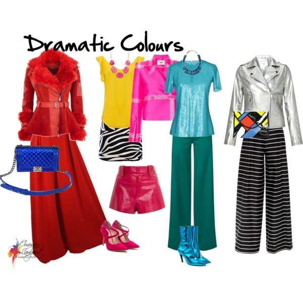 Understand why you choose certain colours to wear - it's based on your personality traits - here are the Dramatic personality colours