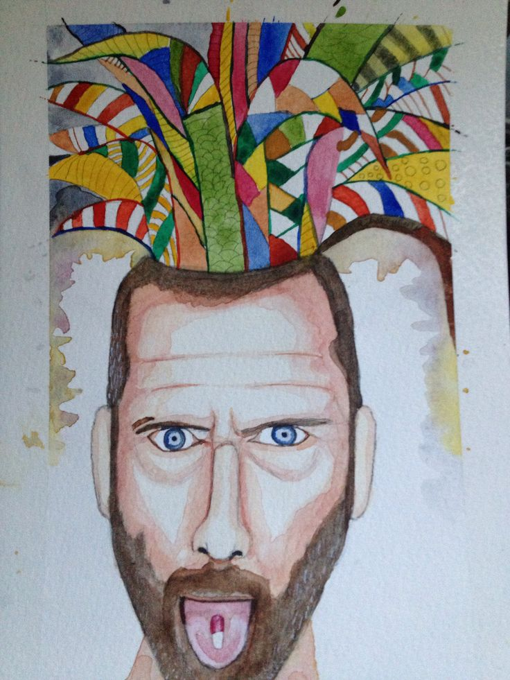 Imagen 3  Learning water colours. Happy pills.