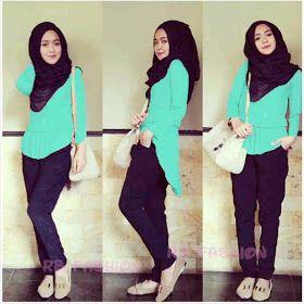 Queen hijab 3in 1  Harga Rp.95.000 (Atasan +pants+pashmina) celana ada saku,  LD98-100cm Bahan Spndek asli,(adem,tebal,lembut) ukuran baju All size (bisa untuk S,M,L besar)  BEST SELLER