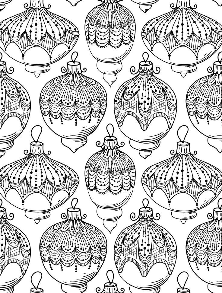 100 best COLORING PAGES | CHRISTMAS | WINTER | HOLIDAY WREATHS ...