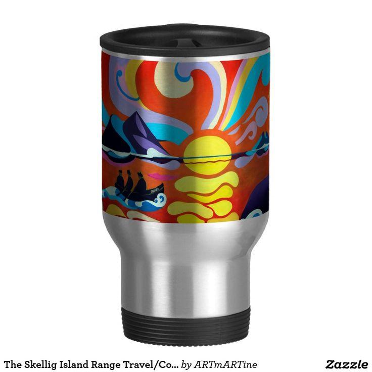 The Skellig Island Range Travel/Commuter Mug