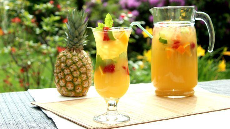 Ananas-Zitrus-Limonade