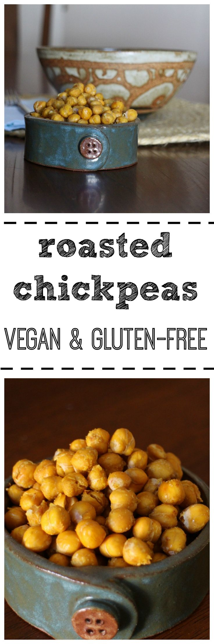 Roasted chickpeas are great as a snack, salad topper, or in pasta salads. They…