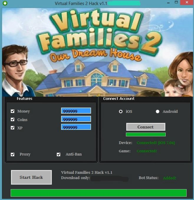 Virtual Families 2 Hack Cheats Tool Virtual Families 2 Hack is Modhacks.com a new tool, that we all want to present to you. If you ever glimpse at all the other hacks on line, this amazing tool is the most effective. This specific tool was made to be functioning on Android os and iOS …