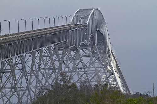 Rainbow Bridge, between Bridge City, Texas and Port Arthur, Texas