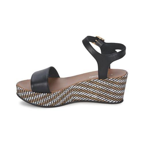 San Marina Zapatos Elna, Nubuck De Ternera Marino Tacón: 11 cm