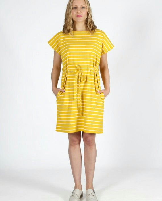 Yellow summer dress by Nouki