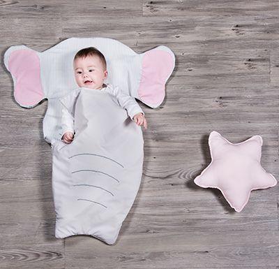 saco con forma de elefante saco animales sacos para bebes sacos para niños saco para carro decoración infantil decoración bebes ropa para bebes ropa niños