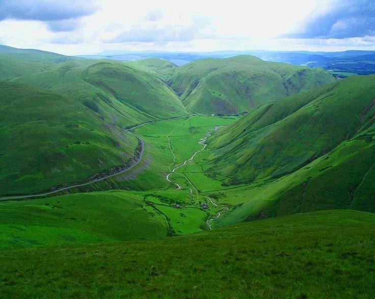 Scotland Lush and Green Hills!