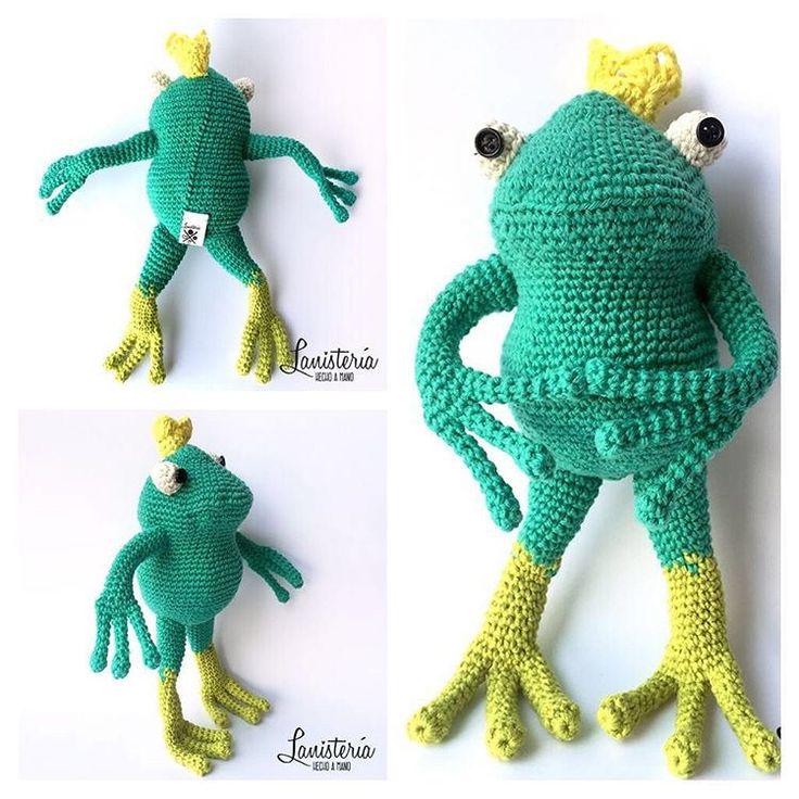 Reni el príncipe de la Lanisteria  Versión amigurumi de una Rana :) #crochet #chrochettoy