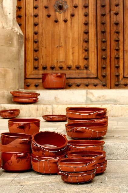 Typical graxoneras from Mallorca. I use them all the time for cooking