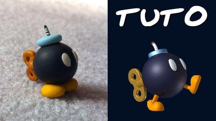 TUTO FIMO | Bob Omb (de Mario)