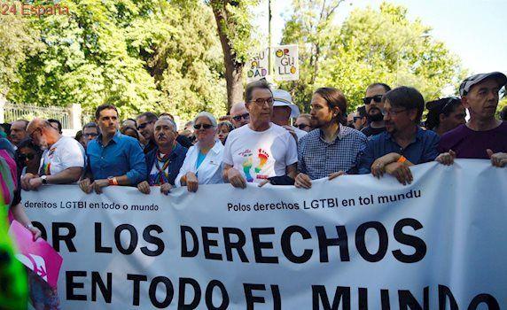 Los políticos se suman a la marcha del Orgullo Gay