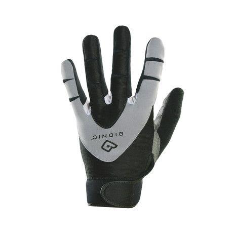 Bionic Gloves // PerformanceGrip Fitness Gloves // Full-Finger (Medium)
