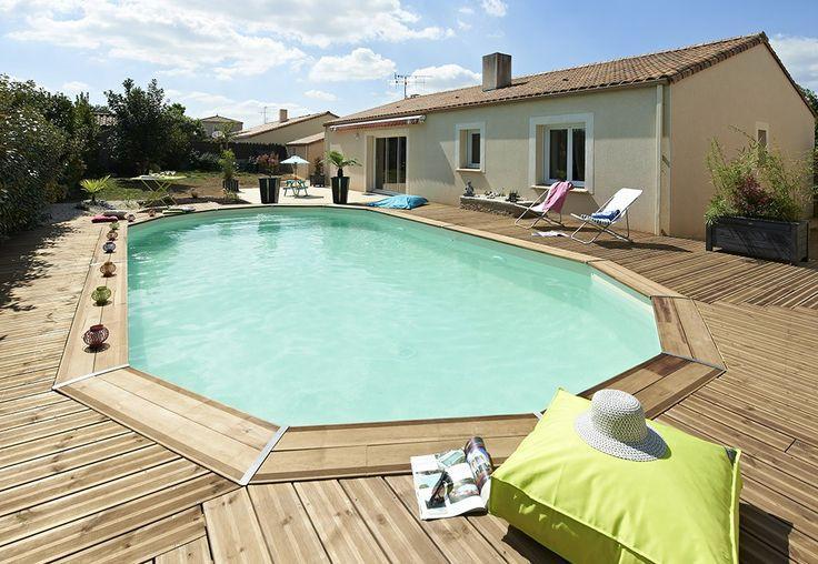 Les 64 meilleures images du tableau piscines bois sur for Piscine durapin