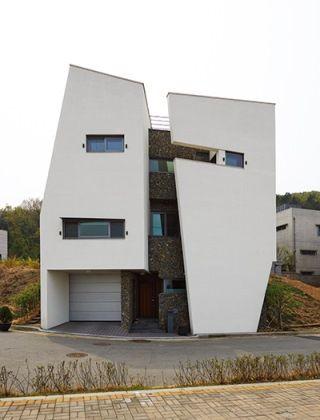 반전의 매력을 선사하는 경사면 집, 영은재 : 네이버 매거진캐스트