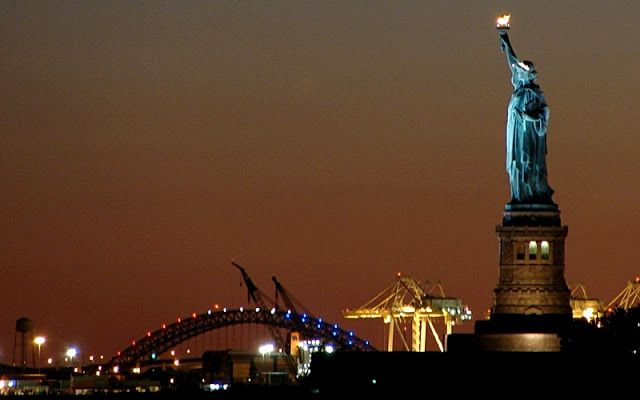 The Statue of Libery in New York