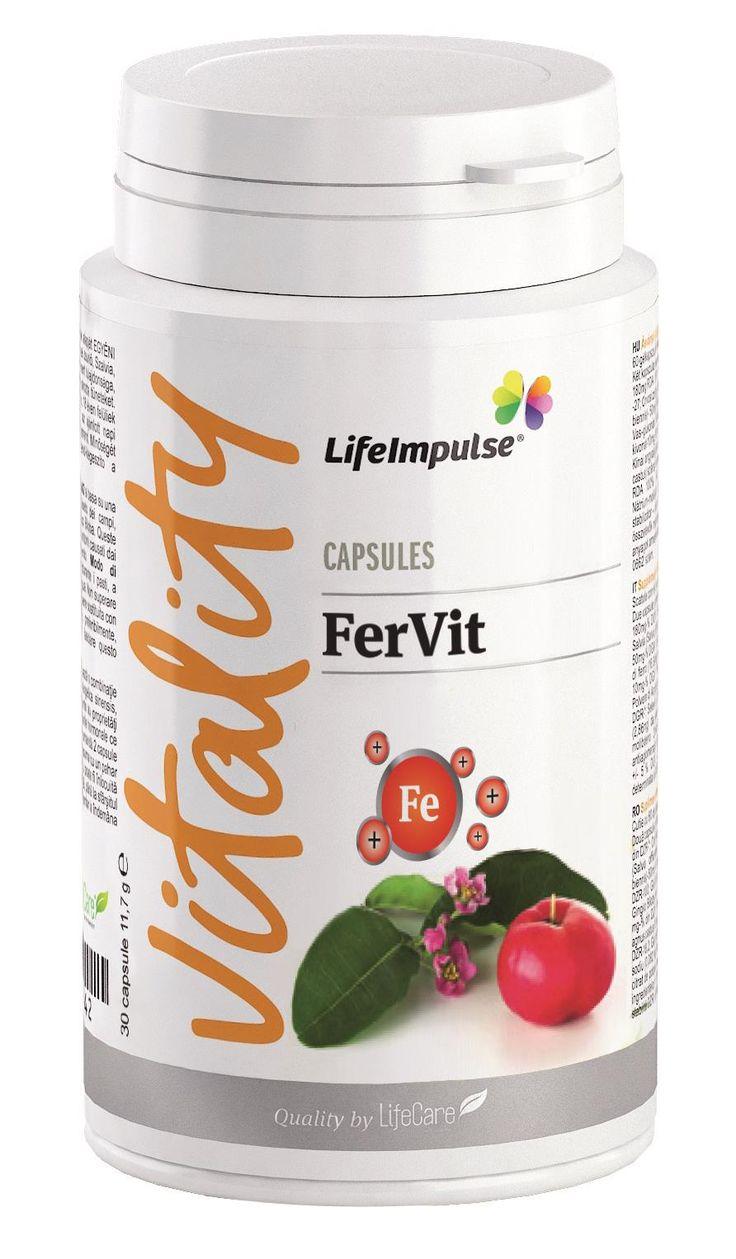 Life Impulse® FerVit - http://life-care.bio/produs/life-impulse/suplimente-alimentare/vitalitate/life-impulse-fervit