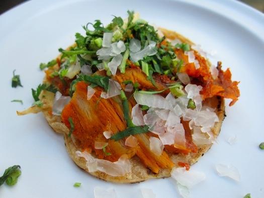 http://www.foodgps.com. El Califa. Tacos al Pastor.