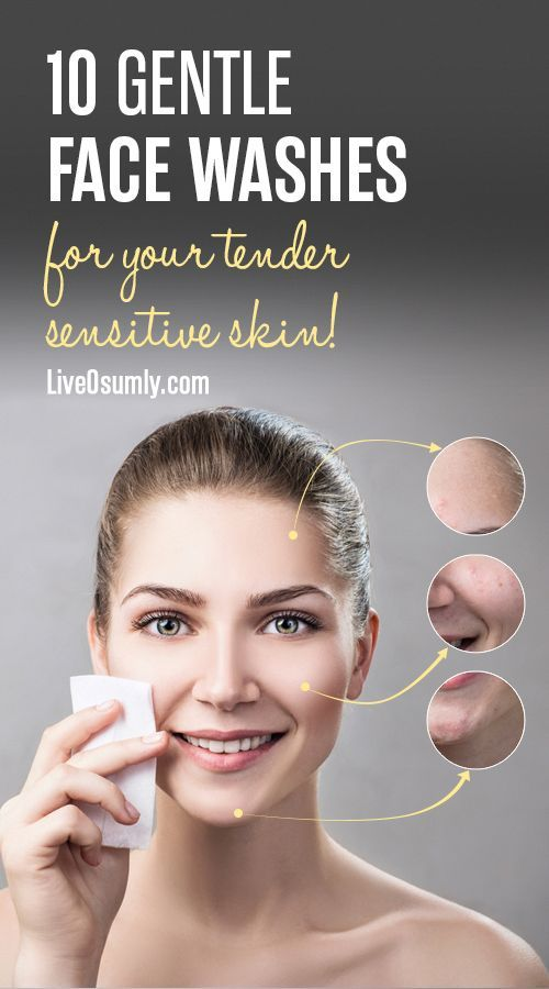 Sensitive skin types need a gentle but effective c
