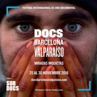 Catálogo DocsBarcelonaValparaiso 2016  Información de documentales, fechas de exibición y dirección de las salas donde se proyectan.