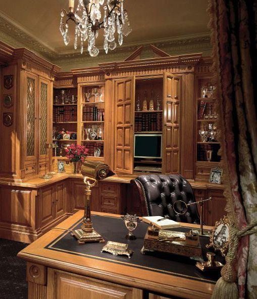 Clive Christian Classic Victorian Study In Oak The