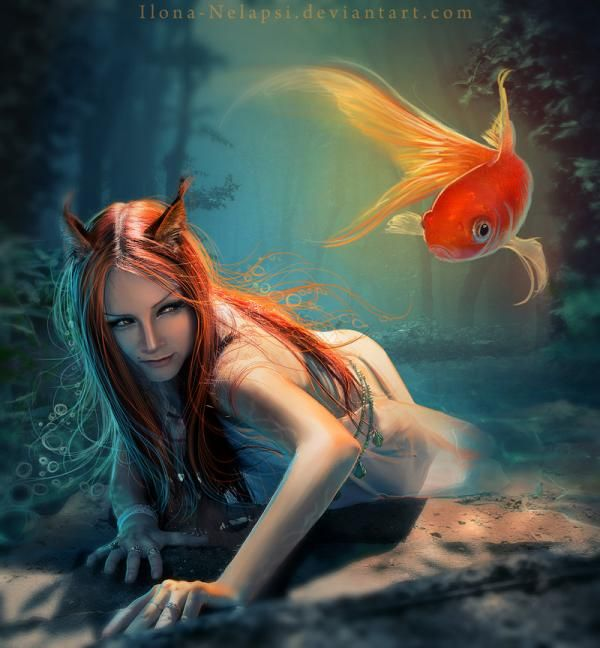 Digital Art by Ilona Nelapsi