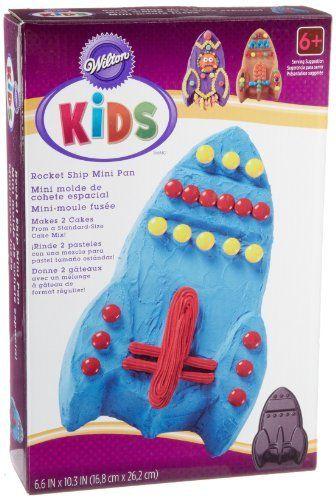 Wilton Kids Rocket Ship Mini Cake Pan, http://www.amazon ...