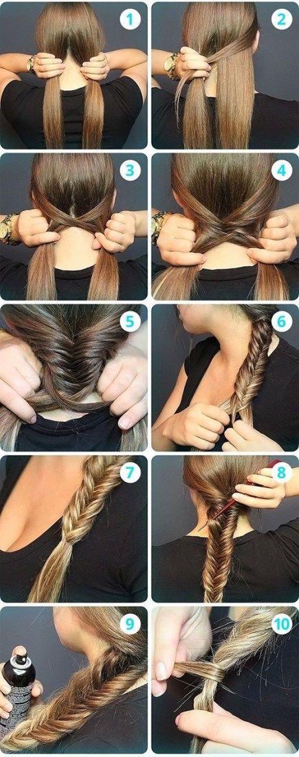 Una trenza Fishtail o también conocida como cola de pez o cola de sirena, es uno de los peinados más populares, te enseñamos cómo hacerla paso a paso.