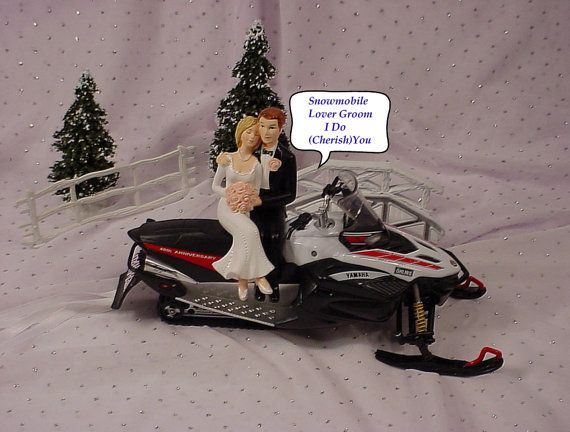 Anniversary Red White Black Yahma Snowmobile Snow Sports