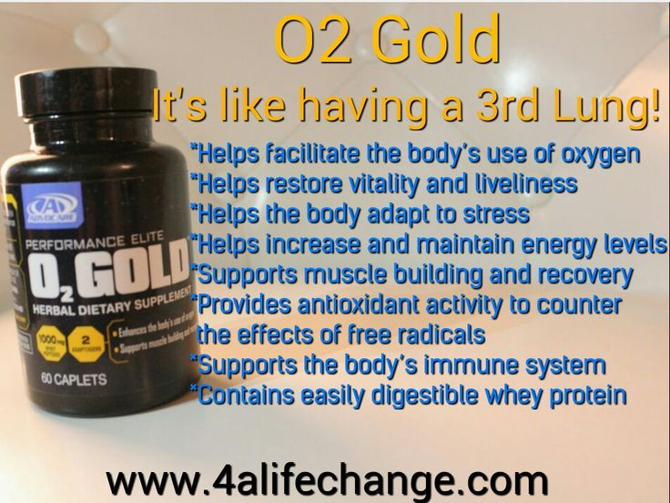 O2Gold is used 60 prior to exercise. It had helped us so much working out in the high Colorado altitudes, running, hiking, biking, or any cardio. www.4alifechange.com