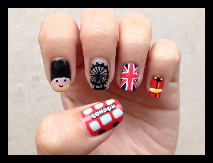 LONDON #nail #nails #nailart