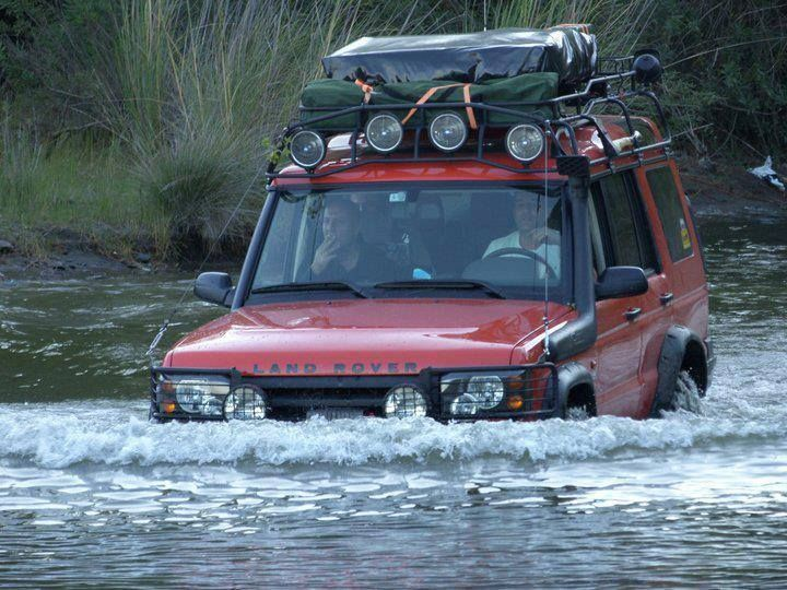 2003 land rover discovery ...it's nice to know it could...