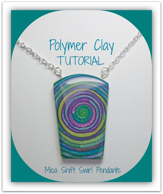 Tutorial  How to Create Polymer Clay Mica Shift by artist Sherri Kellberg Beadazzle Me on Etsy...a fun project