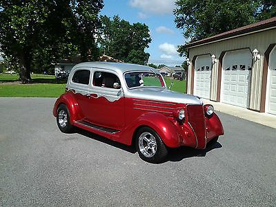 1936 Chevy Coupe for Sale | 1936 Ford Slantback Street Rod Chevy Motor Automatic 2 Two Door ...